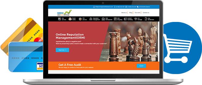 Ecommerce Website Design Company in India - Sunrise Grow Web